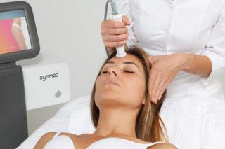 Imagen del proceso del tratamiento facial Symmed